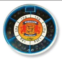 Wiggler Stora Hagel 120g