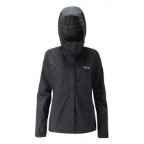 Rab Downpour Jacket Black