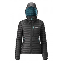 Rab Microlight Alpine Women's Black/ Seaglass