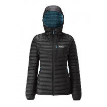Rab Microlight Alpine Long Wmns Black/ Seaglass