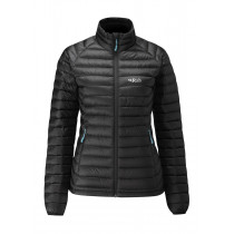 Rab Microlight Jacket Women's Black/Seaglass