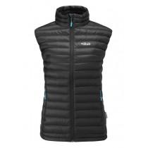 Rab Microlight Vest Women's Black / Tasman