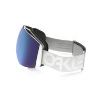 Oakley Flight Deck Factory Pilot Whiteout Prizm Sapphire Iridium