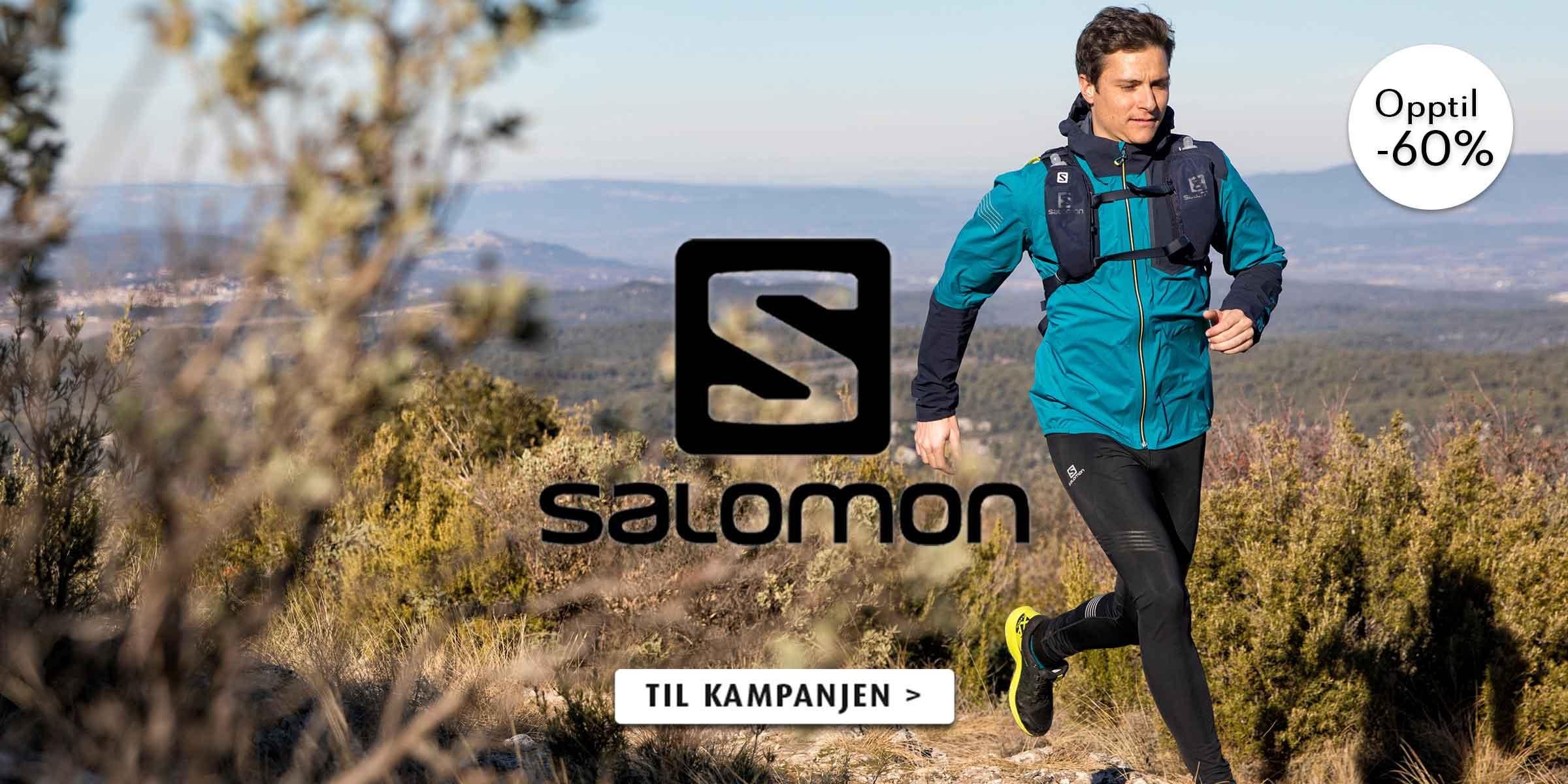 opptil -60% på Salomon