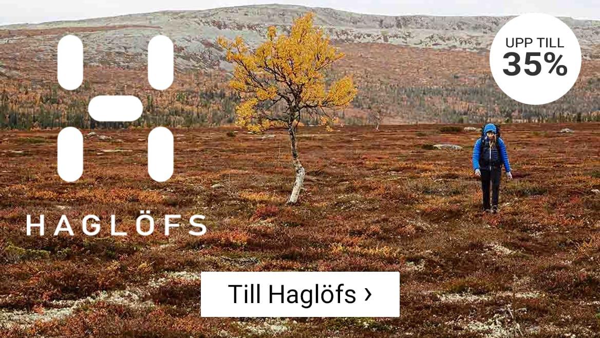 Upp till 35% på Haglöfs. Klicka här!