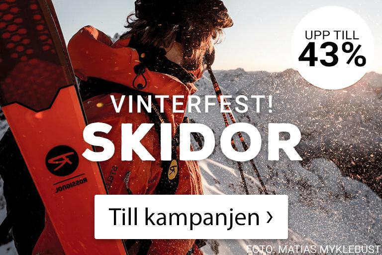 Vinterfest! Årets skidor med upp till 43% rabatt! Klicka här