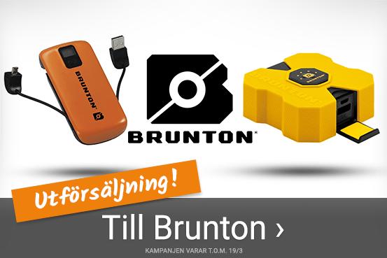 Utförsäljning på Brunton - Se här