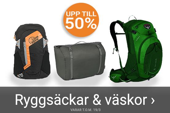 Upp till 50% rabatt på ryggsäckar - Se här
