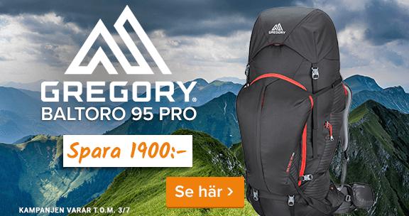 Spara 1900 kr på Gregory Baltoro 95 Pro. Klicka här!