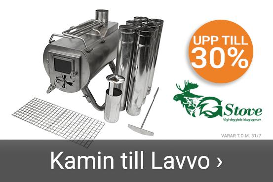 Upp till 30% på Lavvo-kaminer. Läs mer här