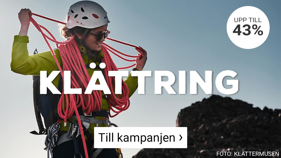 Kampanjpriser på klättring - klicka här