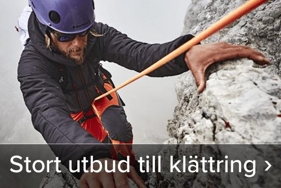 Stort utbud till klättring. Läs mer här