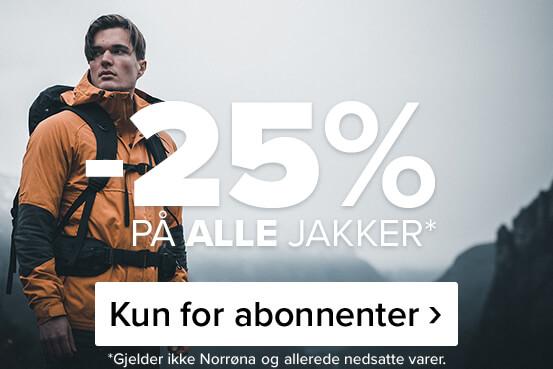 -25% på alle jakker – kun for abonnenter!