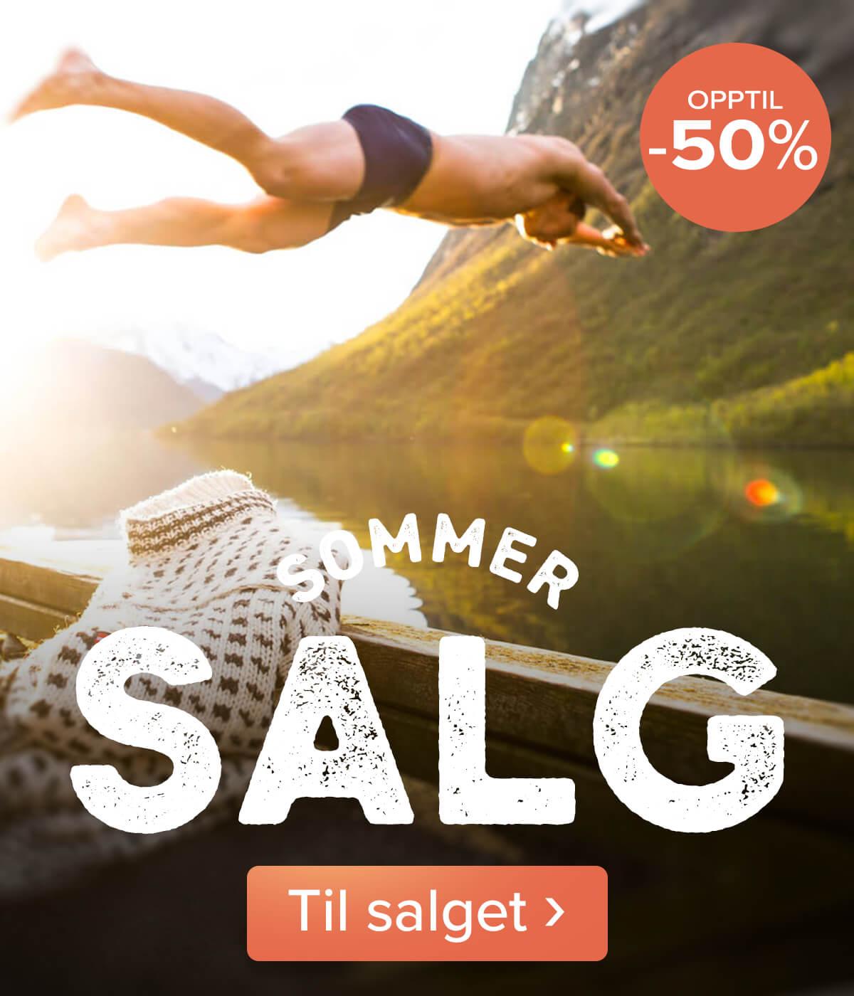 Sommersalg –  over 1500 varer opptil -50%