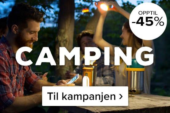 Sommerpuls! Gjør et kupp på campingutstyr ›
