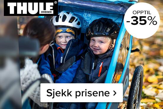 Supertilbud på multisportvogner fra Thule – Kjøp her ›