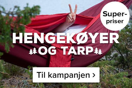 Hengekøyer og tarp til superpriser! Kjøp her ›