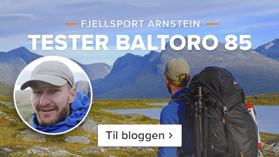 Fjellsport Arnstein tester Gregory Baltoro 85 – Les mer på bloggen ›