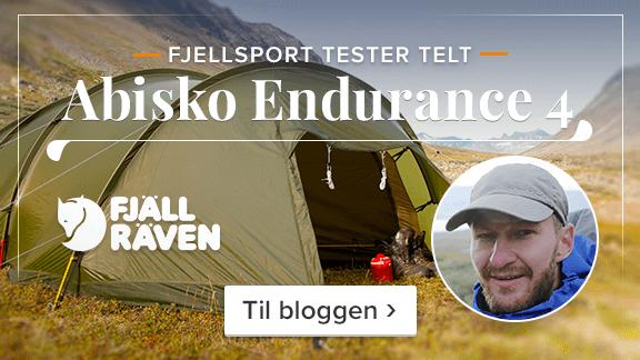 Fjellsport tester Fjällräven telt! Les mer på bloggen ›