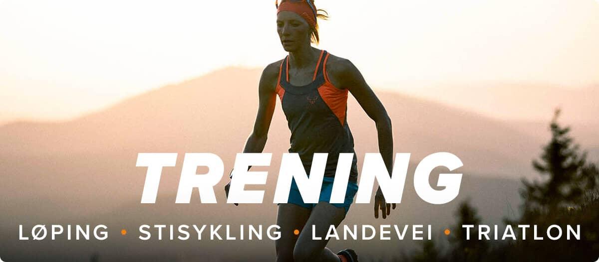 Trening Løping • Stisykling • Landevei • Triatlon
