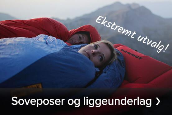 Se hva vi har av soveposer og liggeunderlag – Kjøp her ›